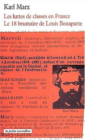 La lutte des classes et le 18 brumaire (2710324148) by K. Marx