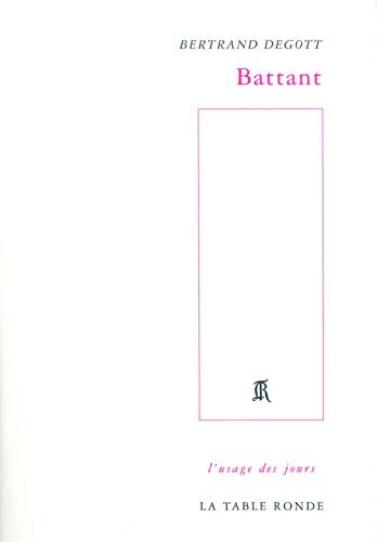 9782710328223: Battant (French Edition)