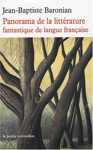9782710329015: Panorama de la littérature fantastique de langue française : Des origines à demain