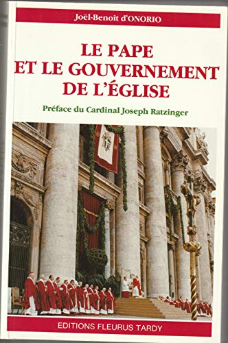 9782710503200: Le pape et le gouvernement de l'Eglise