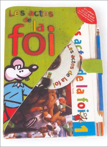 9782710504467: Les Actes de la foi : Porte-documents - 5e (8 journaux + 1 CD audio + 1 carnet de chants + 1 carnet du reporter + 1 crayon)