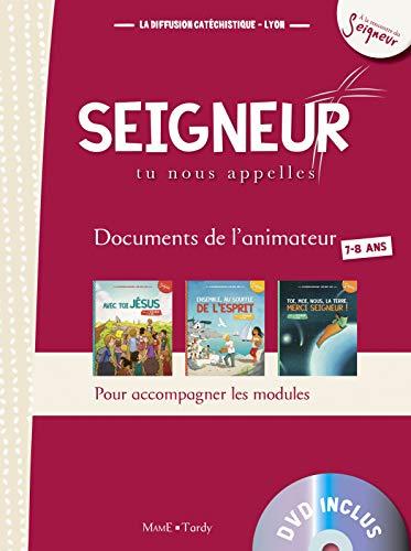 9782710505389: 7-8 ans - document animateur rouge +DVD - modules 1 a 3 (A la rencontre du Seigneur)