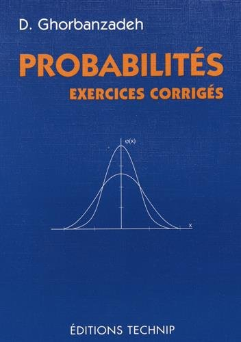 9782710807476: Probabilités: Exercices corrigés (French Edition)