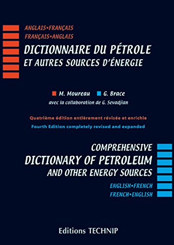 9782710809111: Comprehensice Dictionary of Petroleum and Other Energy Sources: English-French / French-English