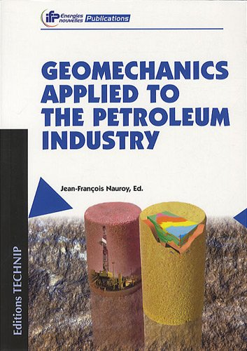 9782710809326: Geomechanics applied to the petroleum in