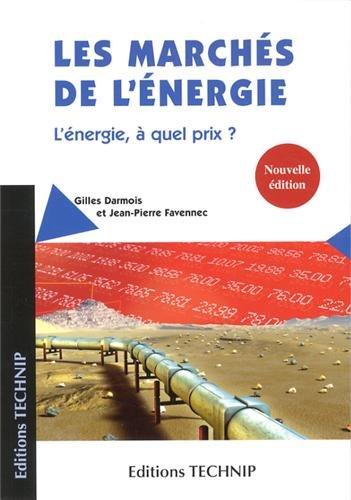 9782710810148: Les marchés de l'énergie
