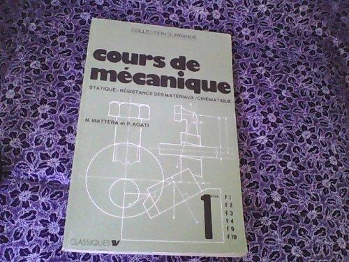9782710900221: Cours de mécanique