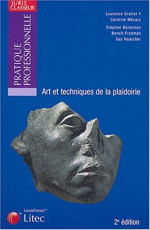 9782711003259: Art et techniques de la plaidoirie