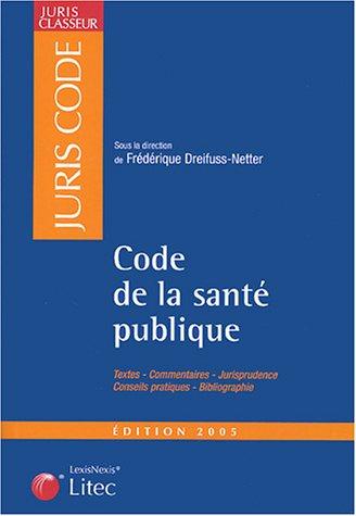 9782711003853: Code de la santé publique (ancienne édition)