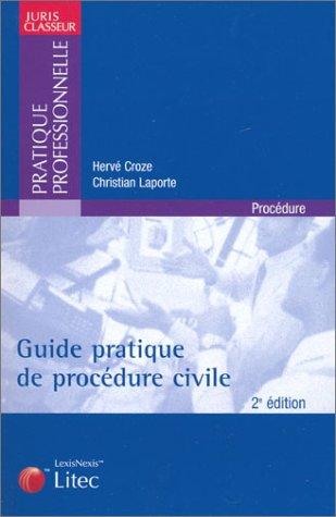 9782711004089: Guide pratique de procédure civile (ancienne édition)