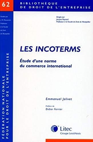 les incoterms: Emmanuel Jolivet