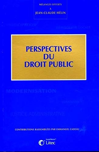 Perspectives du droit public (French Edition): Collectif