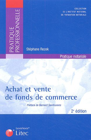 9782711004881: Achat et vente de fonds de commerce : Formules types (ancienne édition)