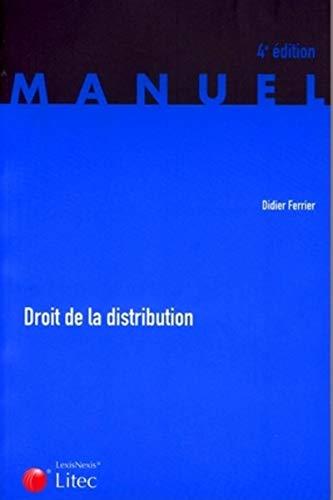 9782711004942: Droit de la distribution (ancienne édition)