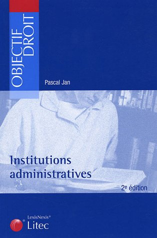 9782711005413: Institutions administratives (ancienne édition)