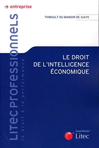 Droit de l'intelligence économique (French Edition): Thibault Du Manoir de Juaye