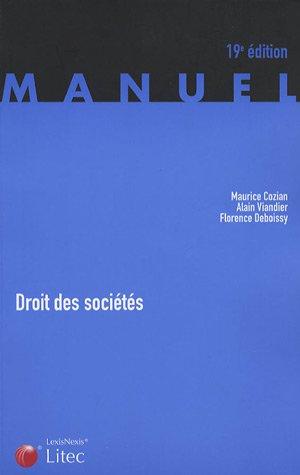 9782711006984: Droit des sociétés (ancienne édition)