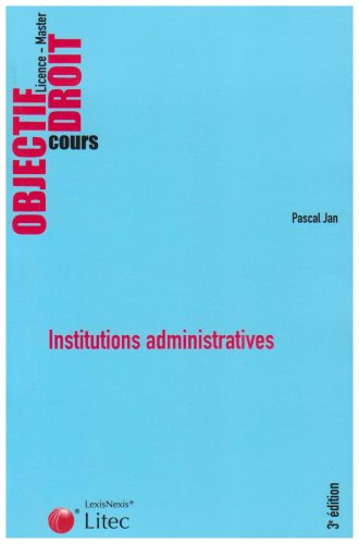 9782711008995: Institutions administratives