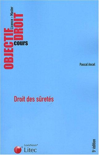 9782711010400: Droit des suretes (French Edition)