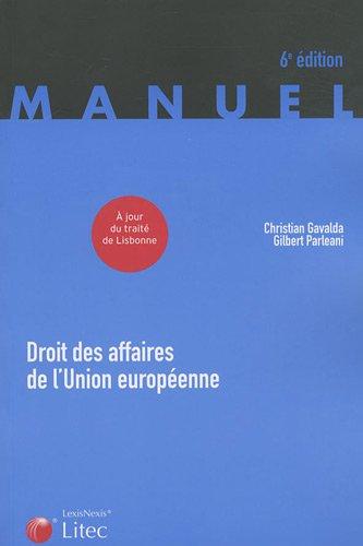 9782711011568: Droit des affaires de l'Union européenne