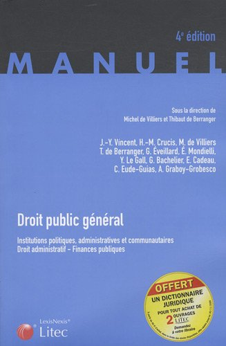 9782711011667: Droit public général : Institutions politiques, administratives et communautaires, Droit administratif, Finances publiques