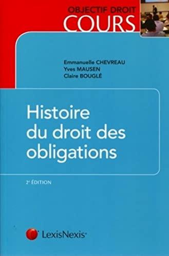 9782711011711: Histoire du droit des obligations (French Edition)
