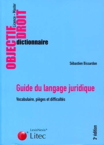 9782711011902: Guide du langage juridique (French Edition)