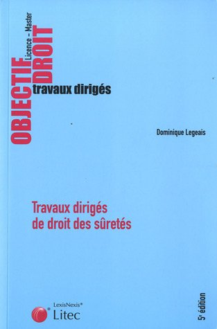 9782711011940: Travaux dirigés de droit des sûretés (French Edition)