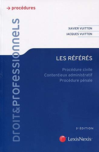 les referes: Xavier Vuitton