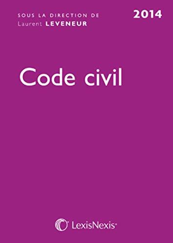 9782711012961: Code civil 2014 (33e édition)