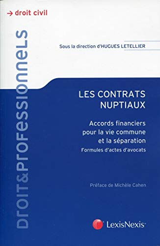Les contrats nuptiaux (French Edition): Letellier