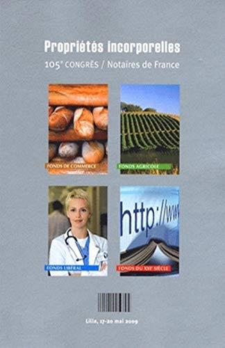 Propriétés incorporelles de l'entreprise (French Edition): Collectif