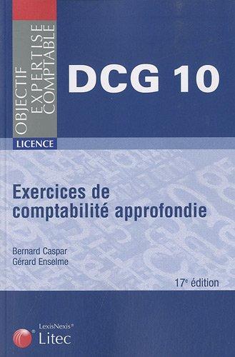 9782711014316: Exercices de comptabilit� approfondie DCG 10