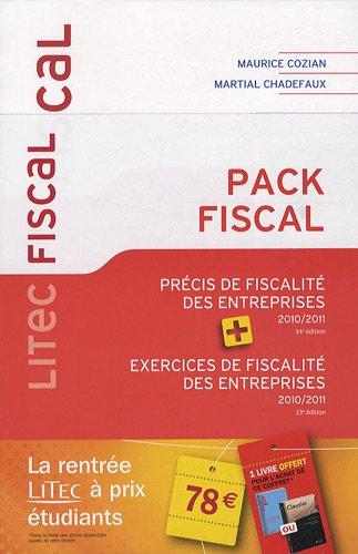 9782711014705: Pack Fiscal : Précis de fiscalité des entreprises, Exercices de fiscalité des entreprises
