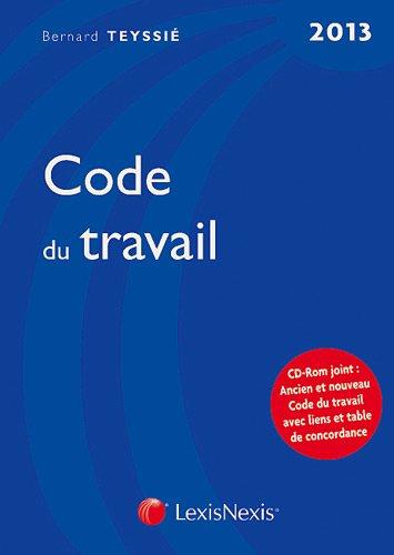 9782711016440: Code du travail (CD inclus)