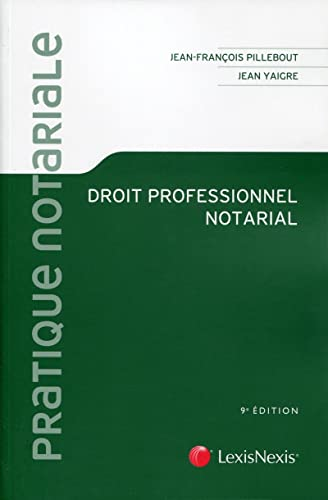 9782711017126: Droit professionnel notarial