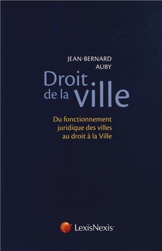 Droit de la ville (9782711017287) by [???]