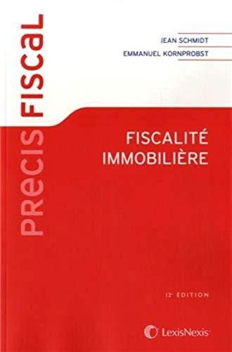 9782711017331: Fiscalité immobilière (12e édition)