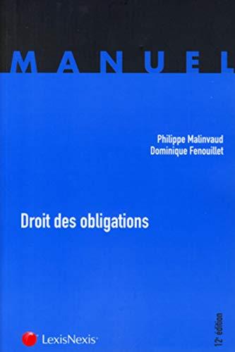9782711017423: Droit des obligations (12e edition)