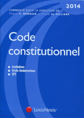 9782711017591: Code constitutionnel (6e édition)