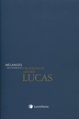 Melanges en l'honneur du professeur andre lucas: Collectif