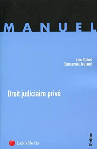 9782711019298: Droit judiciaire privé (8e édition)