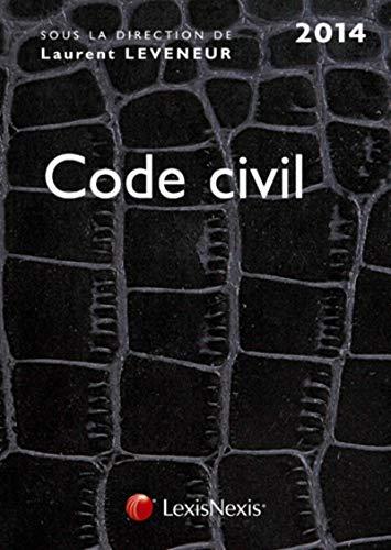 9782711019304: Code civil 2014 croco noir