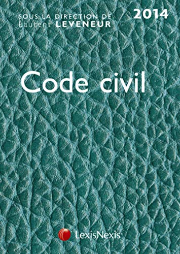 9782711019380: Code civil 2014 : Cuir turquoise