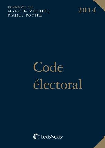 9782711019717: Code �lectoral 2014