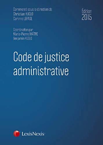 9782711019793: Code de justice administrative