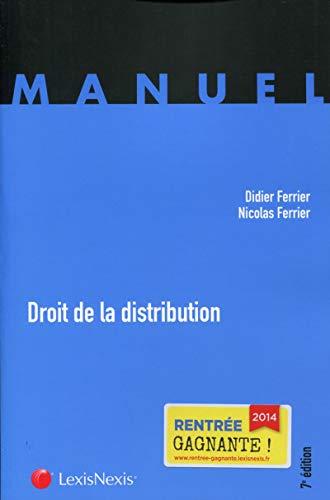 Droit de la distribution: Nicolas Ferrier