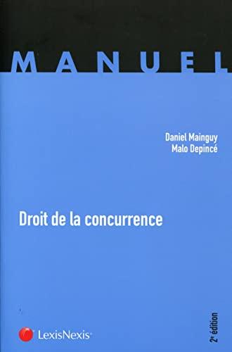 Droit De La Concurrence: Mainguy/Depince