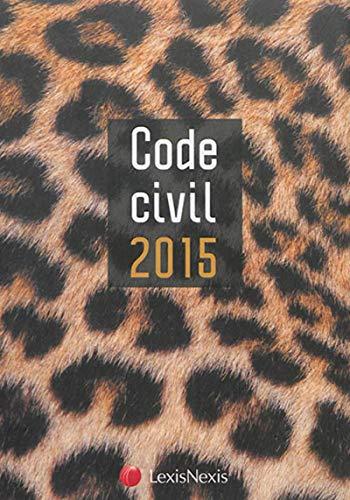 9782711021574: code civil 2015 Jaquette Panth�re