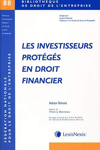 9782711022229: Les investisseurs prot�g�s en droit financier
